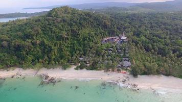 Bird's eye view of Koh Kood island - Thailand