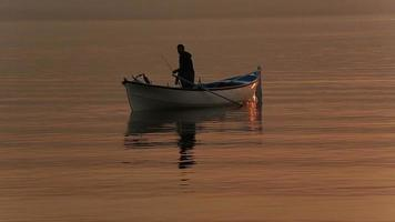 Fisherman and the boat