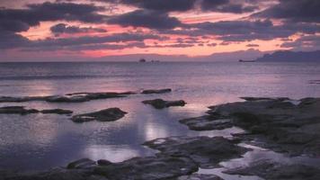 tramonto video