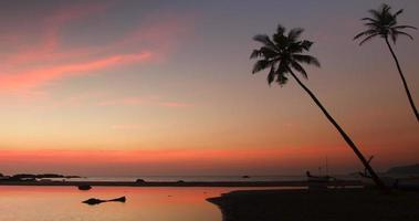 Agonda Sunset Timelapse video