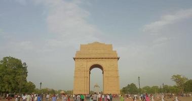 india gate metà giornata 3 time-lapse