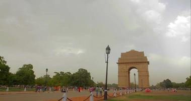 india gate metà giornata 1 time-lapse