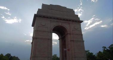 india gate tramonto 2 time-lapse