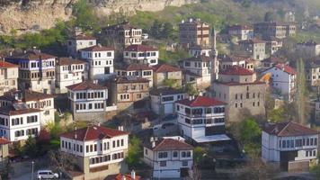 Ansicht des traditionellen osmanischen anatolischen Dorfes, Safranbolu, Truthahn
