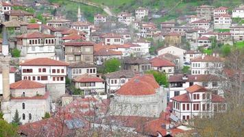 Vue du village anatolien ottoman traditionnel, safranbolu, Turquie