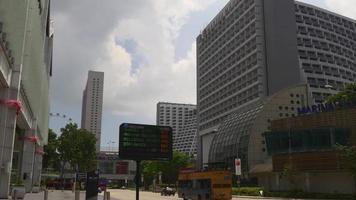 Singapur Marina Square Suntec City Mall Verkehrsstraße Panorama