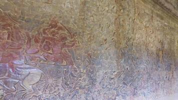 bas relief angkor wat