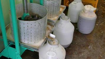 producción de jugo de manzana