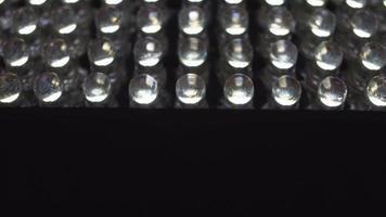 Painel de LED. close-up 4k video