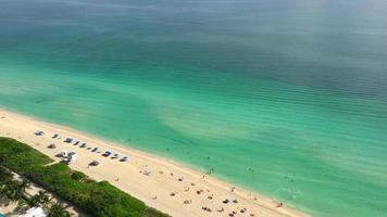 vista aerea de miami beach