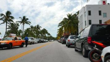 Ocean Drive Miami Beach video
