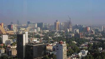 vista elevada da cidade, méxico video
