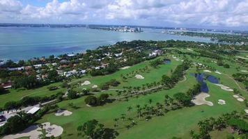 Vidéo aérienne d'Indian Creek Miami Beach
