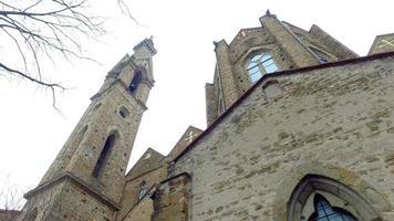 a igreja de santa maria novella em florença - itália video