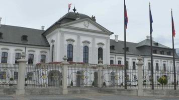 palazzo grassalkovich di bratislava video