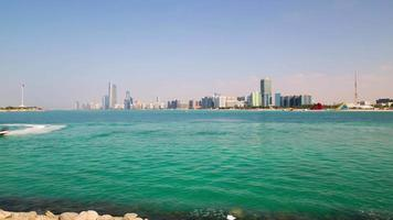 Wassermotorrad Zeitraffer von Abu Dhabi