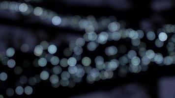 luces abstractas borrosas video
