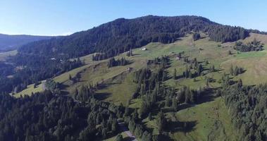 volo panoramico sulle colline