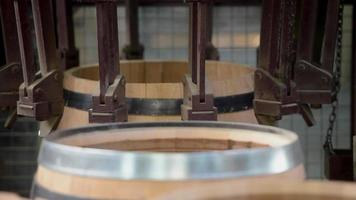 fabricación de barricas de vino-viñedo burdeos
