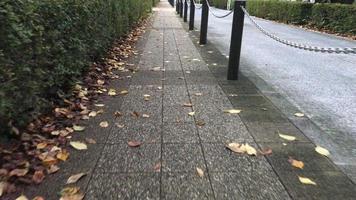 camminando per la strada