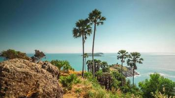 thailand day phuket famous observation deck panorama 4k time lapse