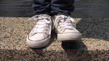 baskets, chaussures de sport, chaussures