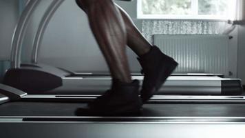 accélérer de la marche à la course sur tapis roulant