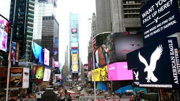 Times Square em Nova York video