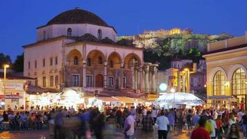 Piazza Monastiraki Atene Grecia