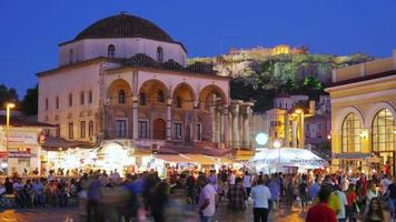 Monastiraki Square Athen Griechenland