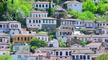 timelapse de Sirince Village, Izmir, Turquia video
