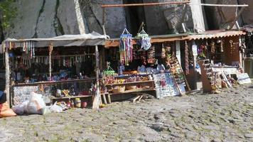 casas de pedra tradicionais antigas aldeias turcas em torno de assos, canakkale, turquia video