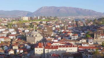 dia timelapse, aldeia tradicional da anatólia otomana, safranbolu, Turquia video