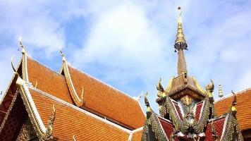 Doi Suthep Temple at blue sky