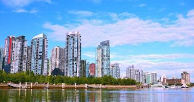 4k Kohlehafen Eigentumswohnungen, Waterfront, Vancouver Kanada video