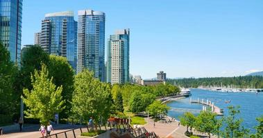 4 k coal harbour seawall, condomini e stanley park in estate