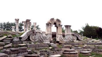 yuanmingyuan, antigo palácio de verão em pequim, china