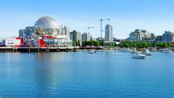 Vancouver BC False Creek Harbour Marina, l'architecture moderne, Canada
