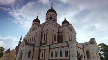 catedral alexander nevsky, tallinn video