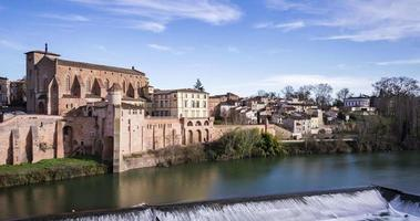 Gaillac, France - Timelapse  - Daytime in the old town