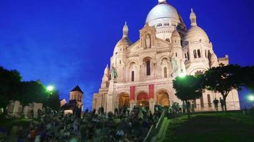 Sacré Cœur, Basilika Heiliges Herz, Paris, Kathedrale, Frankreich video