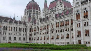 edifício do parlamento de budapeste, hungria video
