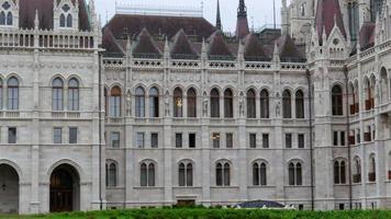 edificio del parlamento di budapest, ungheria video