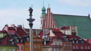 piazza della città vecchia di varsavia, polonia