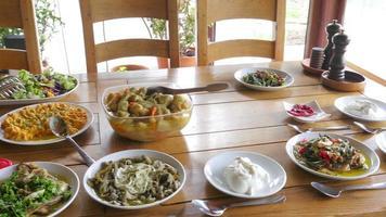 Vorspeise der türkischen Küche video