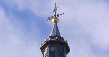 espanha madri luz do sol dia hora catedral de almudena top 4k video
