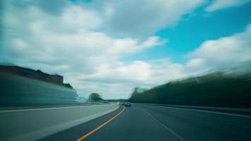 viagem pelos estados americanos 4k time lapse saindo dos EUA video