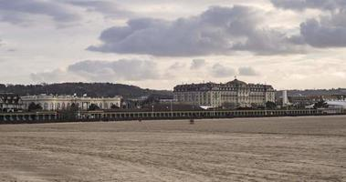 Deauville, France - Timelapse  - The Casino