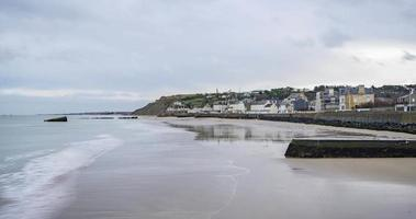 Arromanches, France - timelapse - la plage