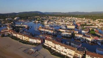 Golfo de St. Tropez, vista aérea de Port Grimaud